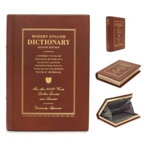 Kate Spade Dictionary Book Clutch Required Reading